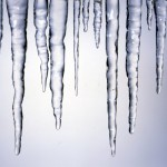 distilled water changes the properties of icicles